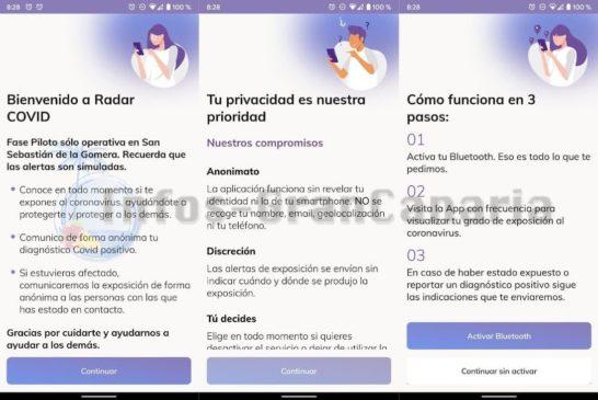 Corona-Warn-App Einrichtung