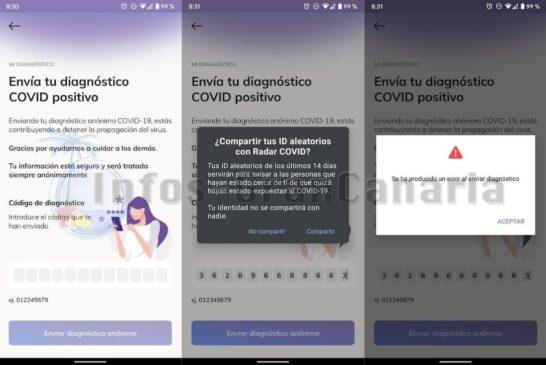 Corona-Warn-App Infektion melden