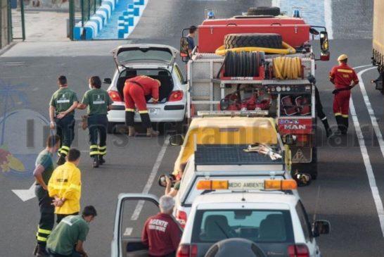 Einheiten von Gran Canaria auf dem Weg nach La Palma