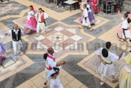 Endlich wieder Folklore im Pueblo Canario in Las Palmas