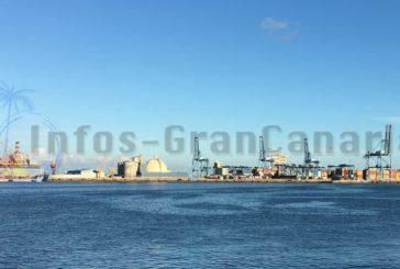 Containerhafen La Luz in Las Palmas profitiert von der Coronapandemie - Zugewinne vermeldet
