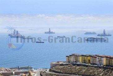 Kreuzfahrtschiffe und Ölplattformen zahlen hohe Gebühren für das Ankern vor Las Palmas