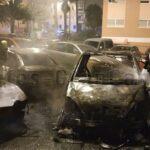 7 Autos & 1 Motorrad in Las Palmas durch Feuer zerstört