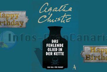 130 Jahre Agatha Christie - Las Palmas zollt Tribut mit Gedenktafel