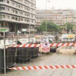 Beginn der Bauarbeiten am Plaza de España für einen neuen Busbahnhof