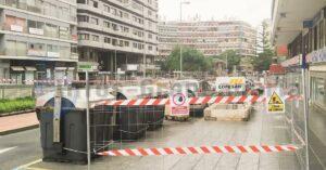 Bauarbeiten Plaza Espana