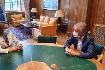 Torres in Madrid im Gespräch mit Ministerin Ribera über Projekte aus EU-Geldern
