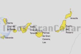 Erneut Hitzewarnung für die Kanarischen Inseln, bis zu 34°C erwartet