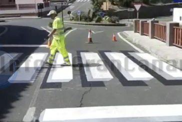 Neuheit im Straßenverkehr von Artenara - 3D Zebrastreifen, inkl. Video