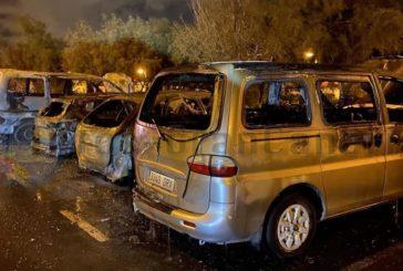 Erneut 4 Autos ausgebrannt, diesmal in Pozo Izquierdo
