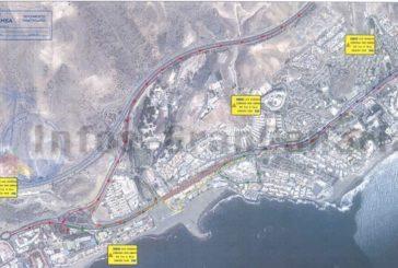 4 Wochen Bauarbeiten auf der GC-500, Sperrungen zwischen San Agustín und Playa del Inglés!