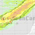 Regenwahrscheinlichkeit auf den Kanaren am morgigen Dienstag = 100%, so AEMET