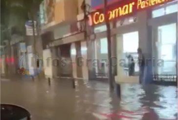 Schwere Regenfälle mit 75 Liter pro Quadratmeter in Las Palmas sorgen für Chaos (mit Videos)