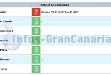 Corona-Ampel Kanaren: Teneriffa erneut verlängert auf Stufe ROT bis 10.12.2020