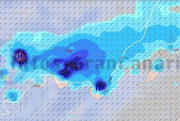 Teils schwerere Regenfälle am Mittwoch auf den Kanaren erwartet