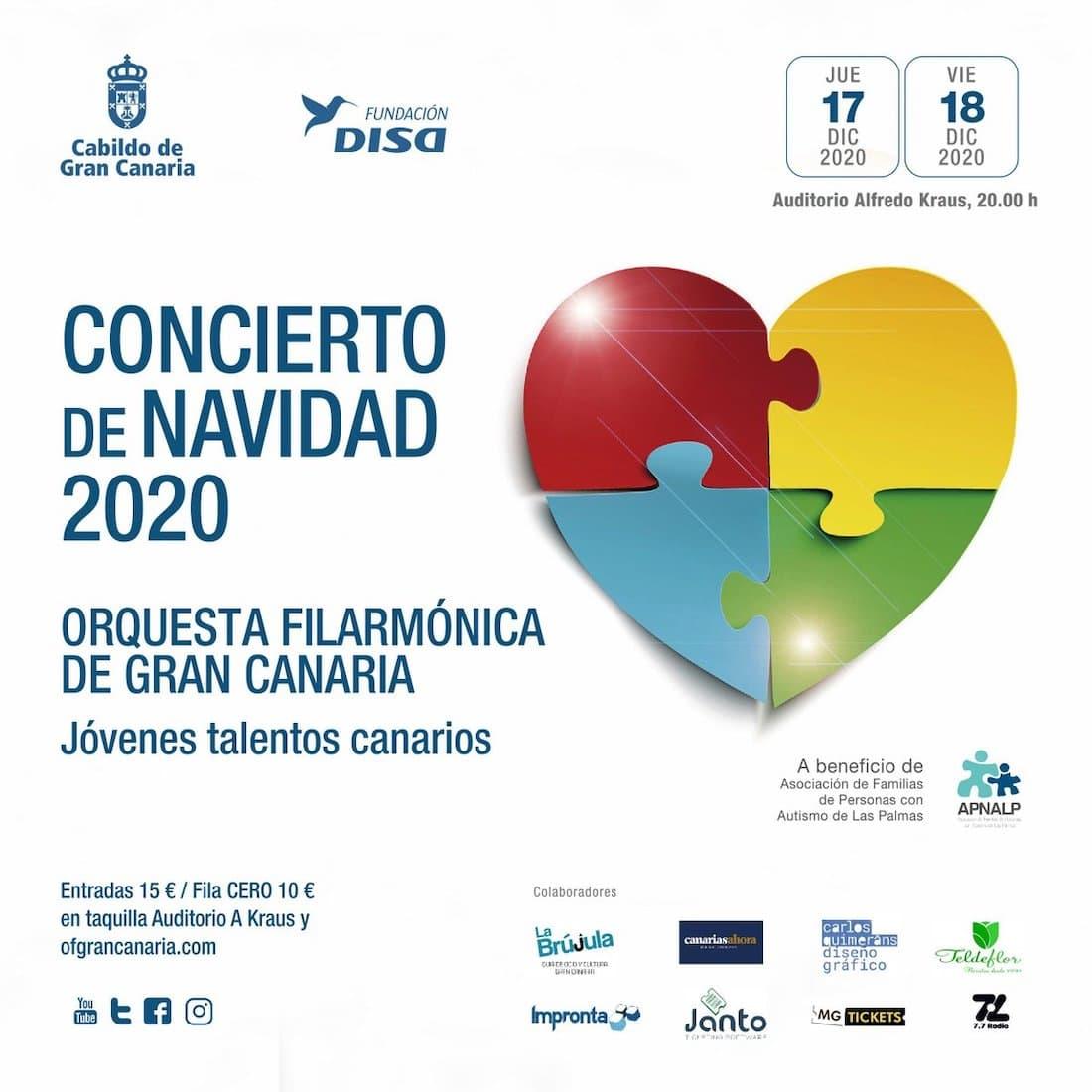 Philharmonie Orchester Gran Canaria Weihnachten 2020