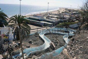 Schandfleck Tobo Playa in Playa del Inglés wird endlich abgerissen - Ein Garten mit Aussichtsplattform entsteht