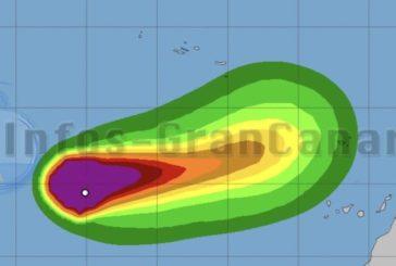 Tropensturm Theta wird wohl nördlich der Kanaren vorbeiziehen und Madeira treffen
