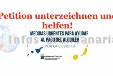 Petition für Mietzuschuss bezüglich COVID-19 gestartet - Mitmachen!