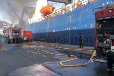 Tragödie im Hafen von Las Palmas - 3 Tote & 4 Verletzte bei Schiffsbrand
