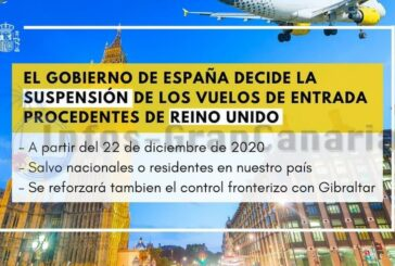 Auch Spanien streicht Eingangsflüge aus Großbritannien wegen neuen Stamm von SARS-CoV2