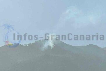 Waldbrand in Valsequillo zu Weihnachten, zum Glück bereits stabilisiert!