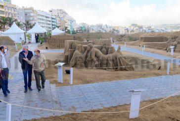 Knapp 4.000 € Spendengelder durch 40.000 Besucher der Sandkrippe generiert