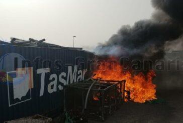 Feuer im Hafen von Castillo del Romeral - Keine großen Schäden!