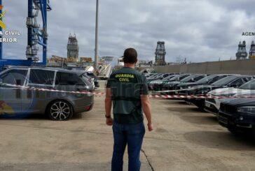 2 in Deutschland gestohlene Autos wurden im Hafen von Las Palmas in einem Container entdeckt