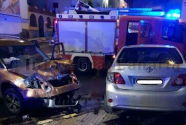 2 Fahrzeuge in Las Palmas kollidiert, 3 Verletzte, alle positiv auf Alkohol getestet