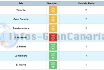 Corona-Ampel Kanaren: Alles wieder angeglichen, Fuerteventura neu auf GELB!