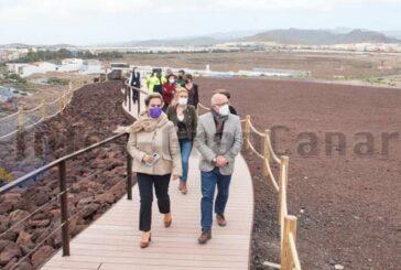 Neue Promenade in Ingenio im Bereich El Burrero eröffnet