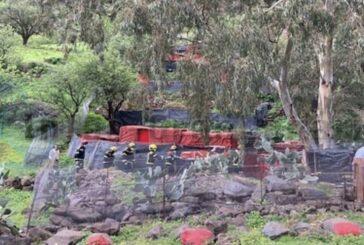Feuerwehr barg Leichnam in einer Höhle der Guayadeque-Schlucht