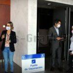 Expomeloneras wird Impfzentrum in San Bartolomé de Tirajana