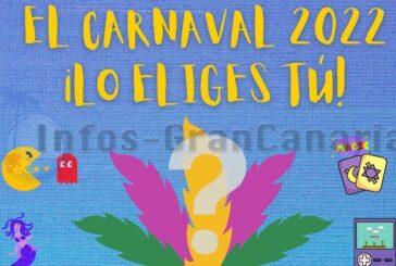 Jeder darf für das Motto des Karneval Maspalomas 2022 abstimmen, jetzt mitmachen!