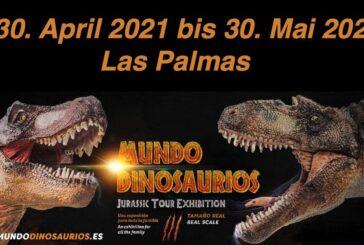 Dinosaurier-Ausstellung Mundo Dinsosaurios Las Palmas
