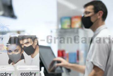 SPAR bietet als erste Handelskette auf Gran Canaria die neuen ECORDY-Masken an