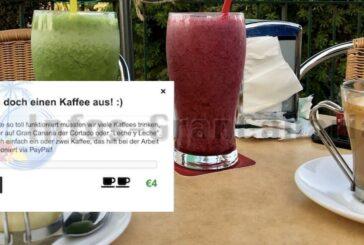 ACHTUNG: Kaffee-Spende IGC war fehlerhaft, Problem behoben