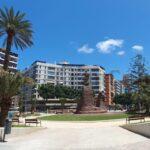 4 Tage nach Fertigstellung gibt es am Plaza de España wieder eine Baustelle