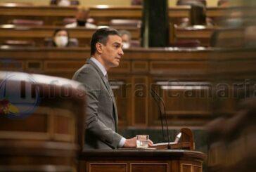 Sánchez verteidigt die Pläne zum Ende des Alarmzustandes im Parlament