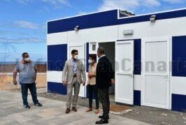 Kioske nebst Toiletten für Strände Costa Alegre und Playa del Cura geliefert