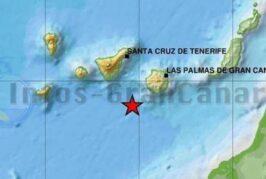 Seebeben mit einer Stärke von 2,1 südlich von Gran Canaria registriert