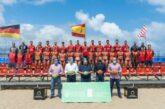 Beach Handball Turnier am Las Canteras in Las Palmas