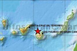 Erdbeben in Gáldar der Stärke 2,3 registriert