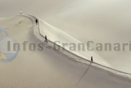 Yves Saint Laurent (im Video) und Louis Vuitton nutzen Dünen von Maspalomas als Laufsteg