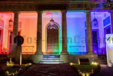 Kanarisches Parlament im Regenbogen - Gleichberechtigung von Morgen findet heute in der Bildung statt