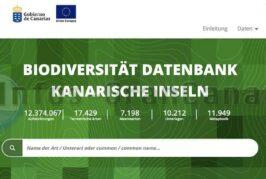 Portal für Biodiversität der Kanaren gibt Infos und Fotos über Tiere & Pflanzen