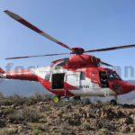 Hubschrauber rettet Wanderer bei Fataga