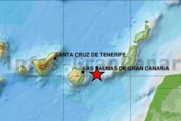 Seebeben mit einer Stärke von 2,4 zwischen Gran Canaria und Fuerteventura registriert