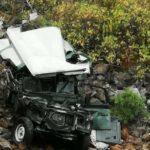 Auto stürzt in Gáldar in eine Schlucht – Autofahrer verstarb!